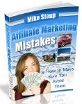 Free eBook Affiliate Marketing Mistakes by Mike Steup