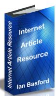 Free Book Internet Article Resource by Ian Basford