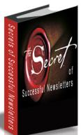 Free eBook Secrets of Successful Newsletters by Antony Babington
